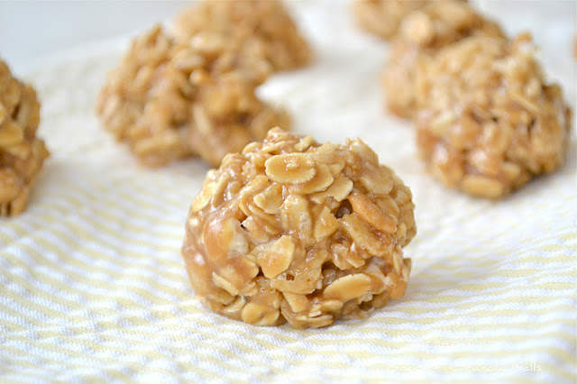 Biscoff Granola Balls