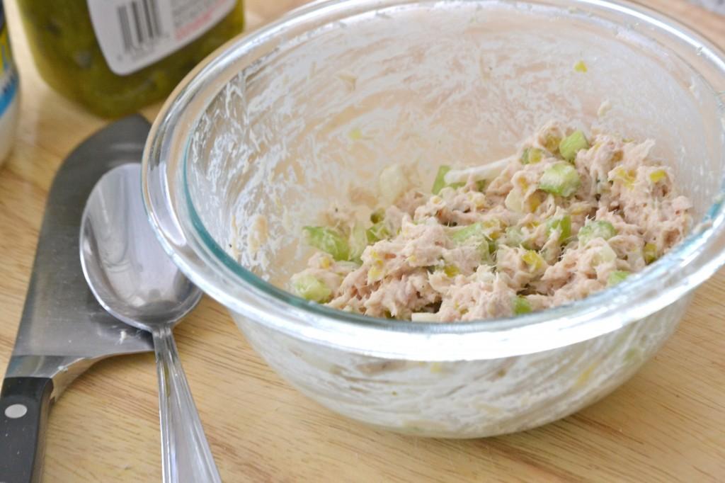 Deli-Style Tuna Fish Salad Sandwich | www.motherthyme.com
