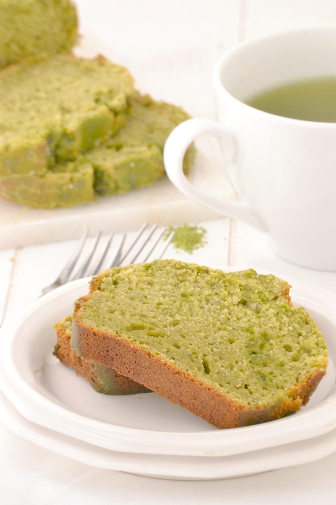 Green Tea Yogurt Cake Mother Thyme