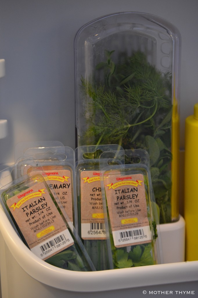 Organize Your Refrigerator | www.motherthyme.com
