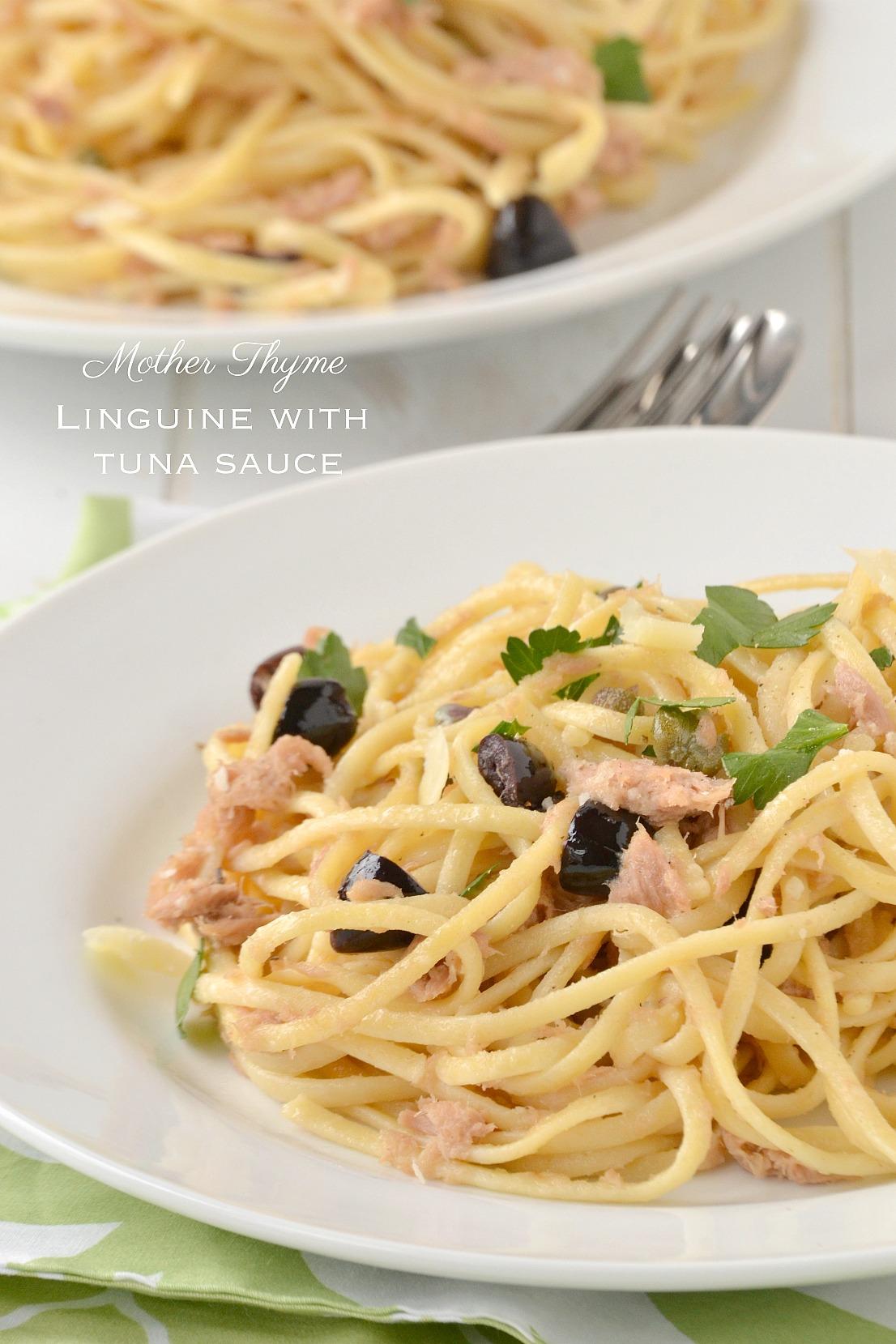 Linguine with Tuna Sauce