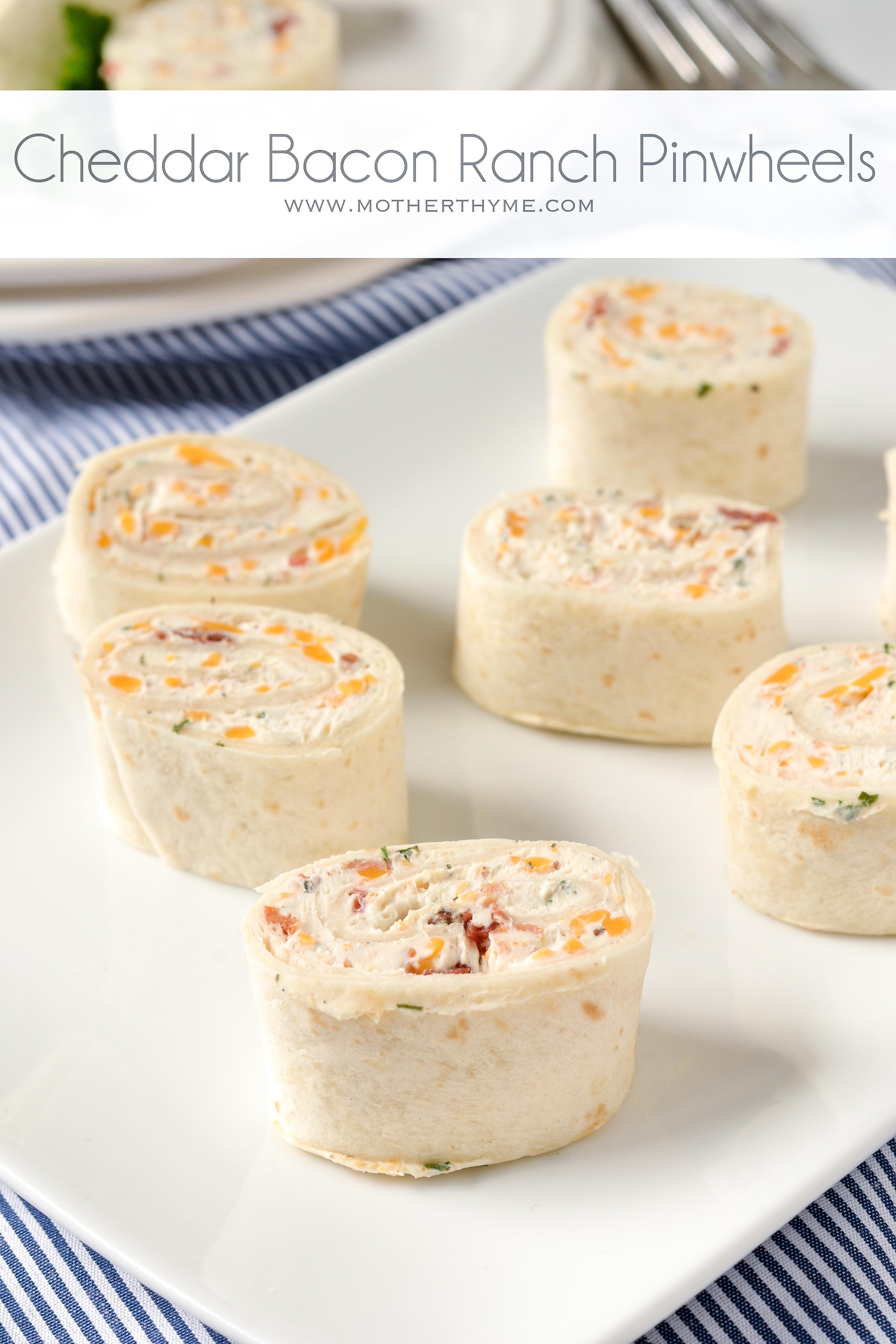 tortilla cream cheese pinwheels