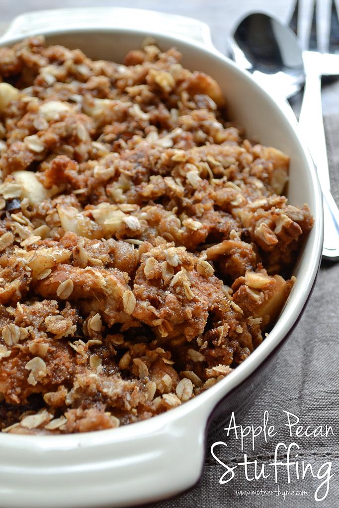 recipe: apple pecan stuffing for turkey [19]