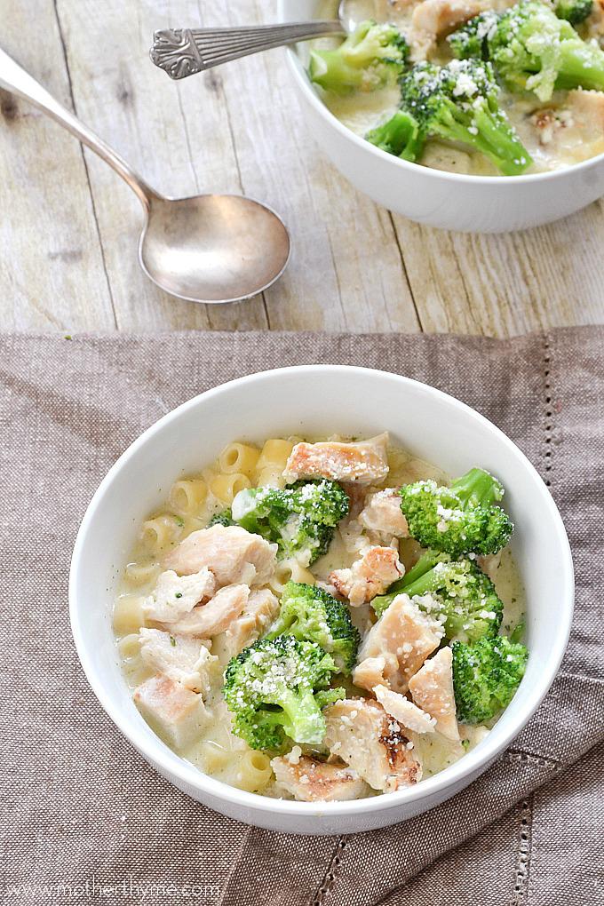 Chicken Broccoli Alfrredo Soup