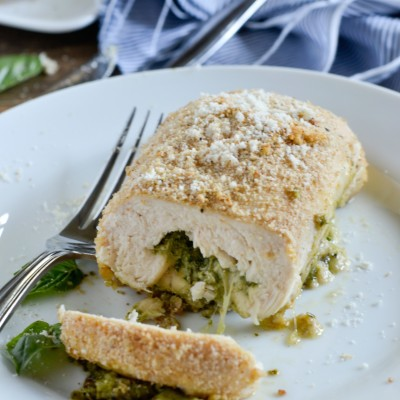 Pesto Chicken Roll-Ups