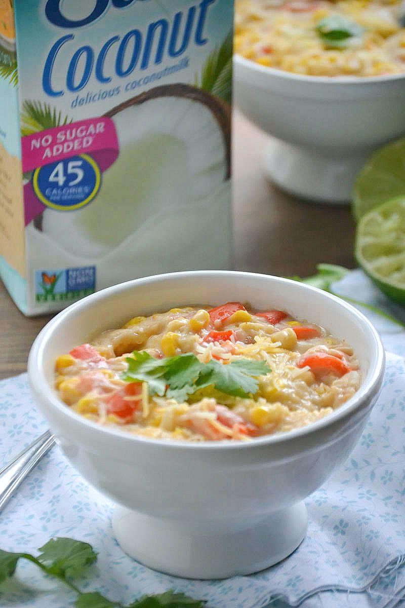 Dairy-Free Mexican Corn Chowder | www.motherthyme.com