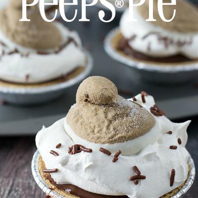 Hot Cocoa PEEPS® Pie