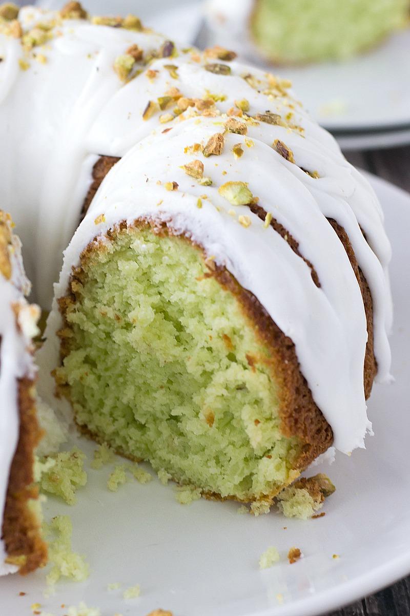 Pistachio Bundt Cake Www Motherthyme Com