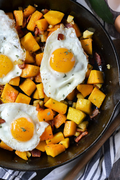 Butternut Squash Breakfast Hash