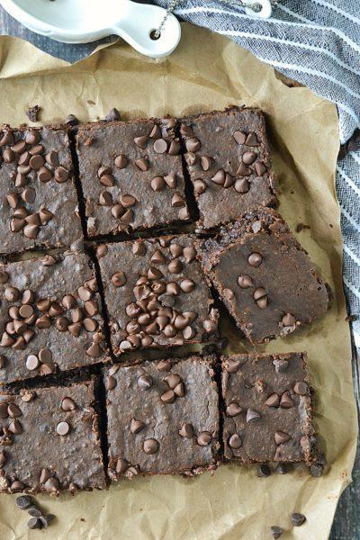 Fudgy Flourless Black Bean Brownies