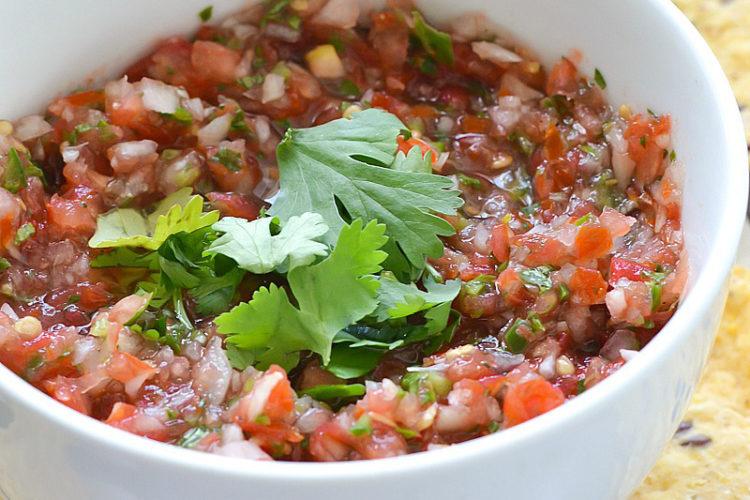 Simple Salsa Fresca