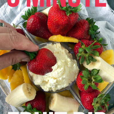 5 Minute Fruit Dip