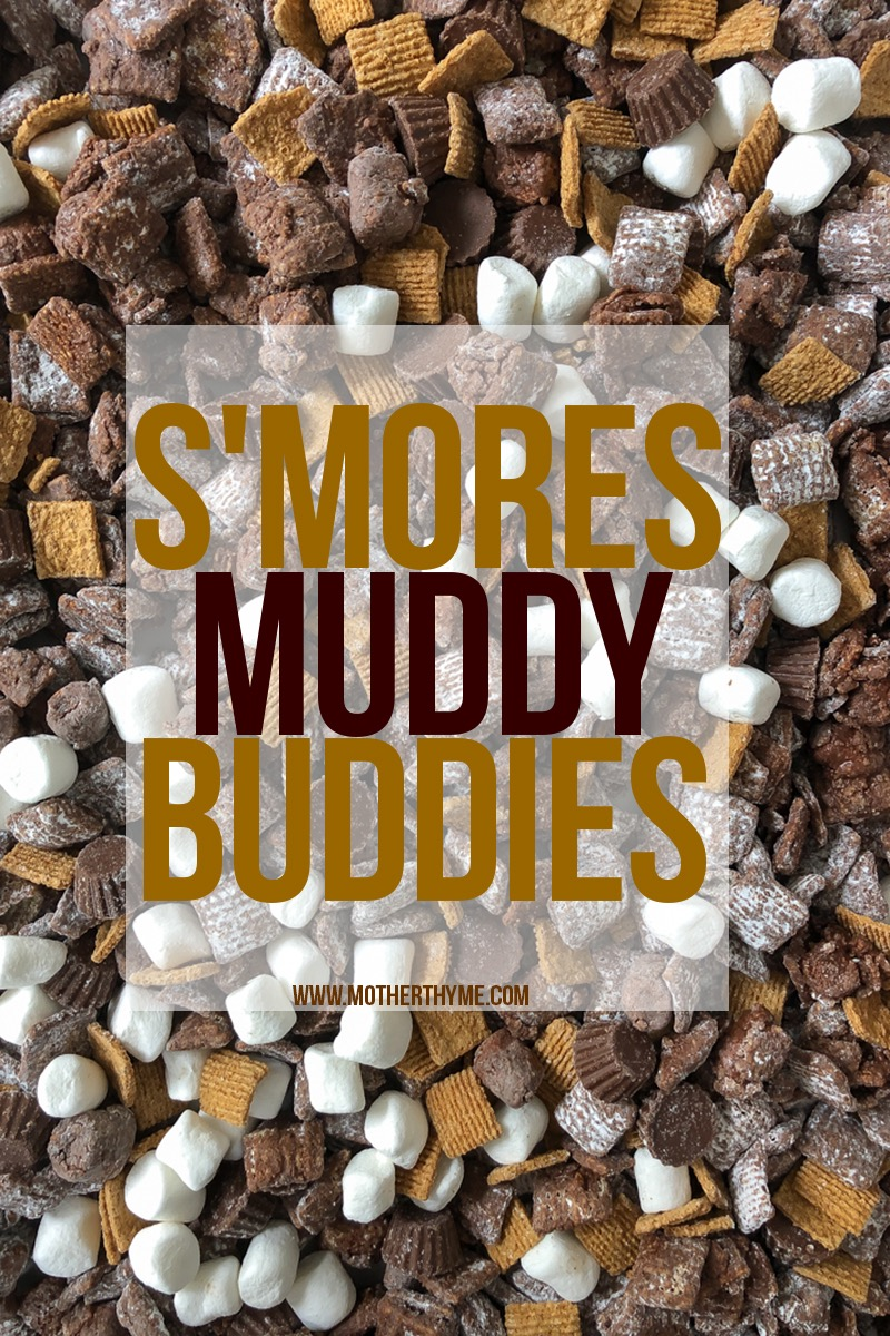 S'MORES MUDDY BUDDIES